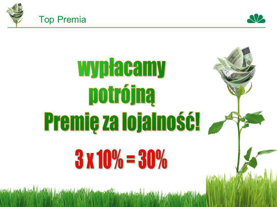 Top Premia wypłacamy potrójną Premię za lojalność! 3 x 10% = 30%
