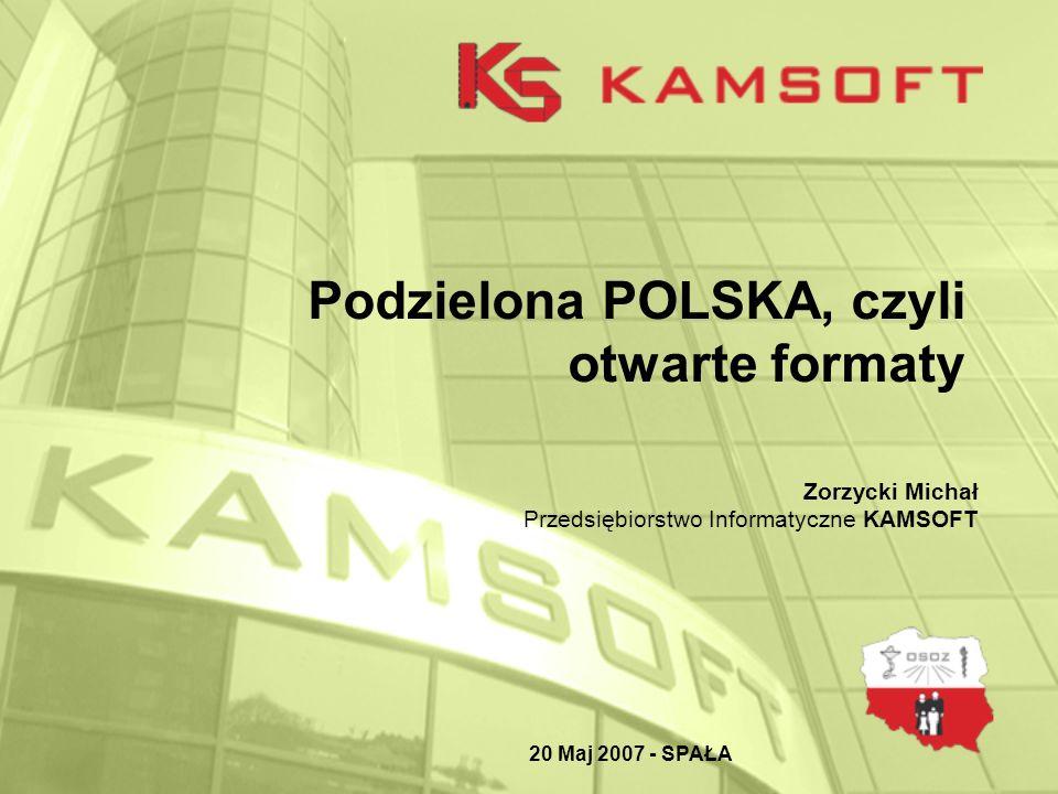 Podzielona POLSKA, czyli otwarte formaty