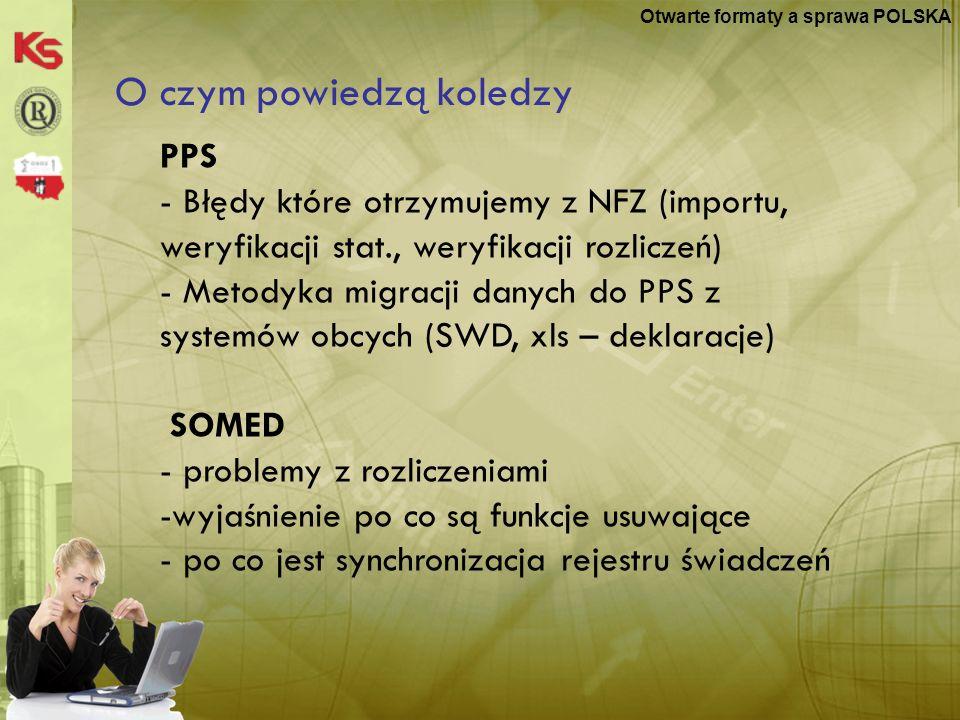 Otwarte formaty a sprawa POLSKA