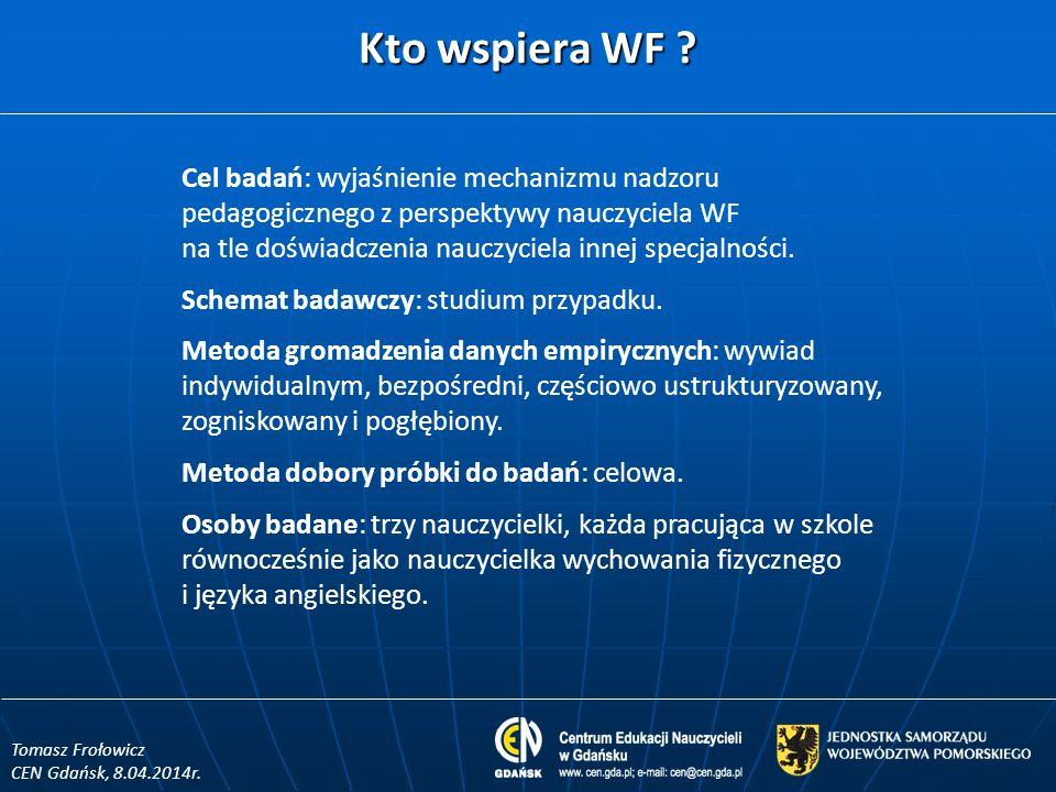 Kto wspiera WF