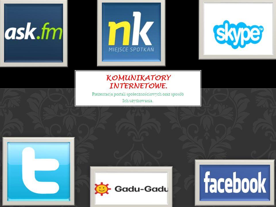 Komunikatory internetowe.