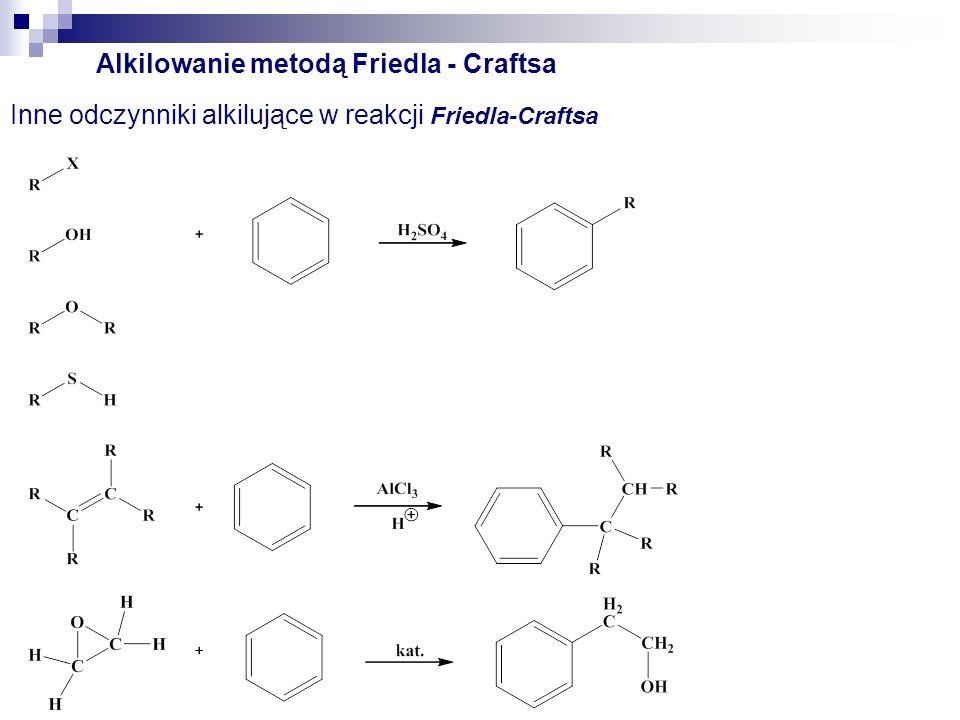 Alkilowanie metodą Friedla - Craftsa
