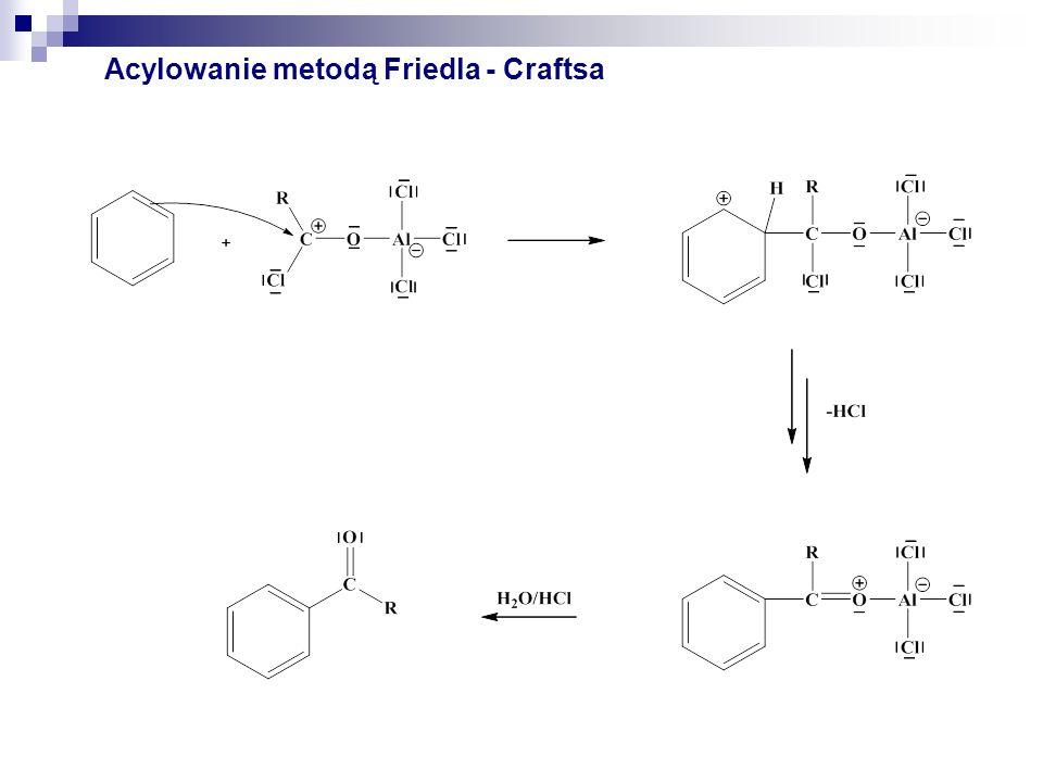 Acylowanie metodą Friedla - Craftsa