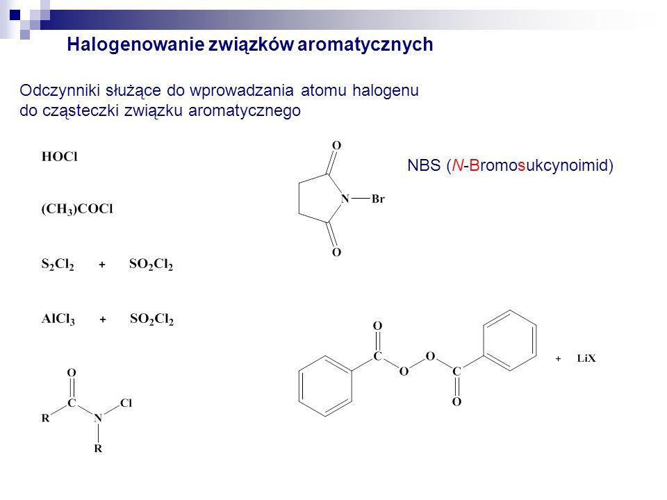 Halogenowanie związków aromatycznych