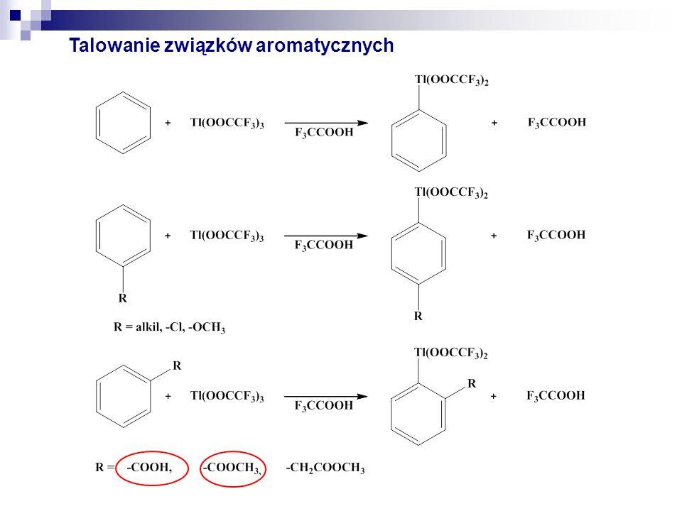 Talowanie związków aromatycznych