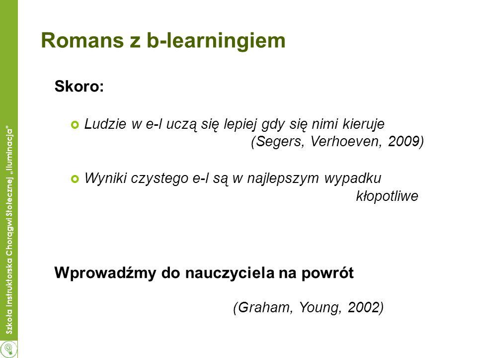 Romans z b-learningiem