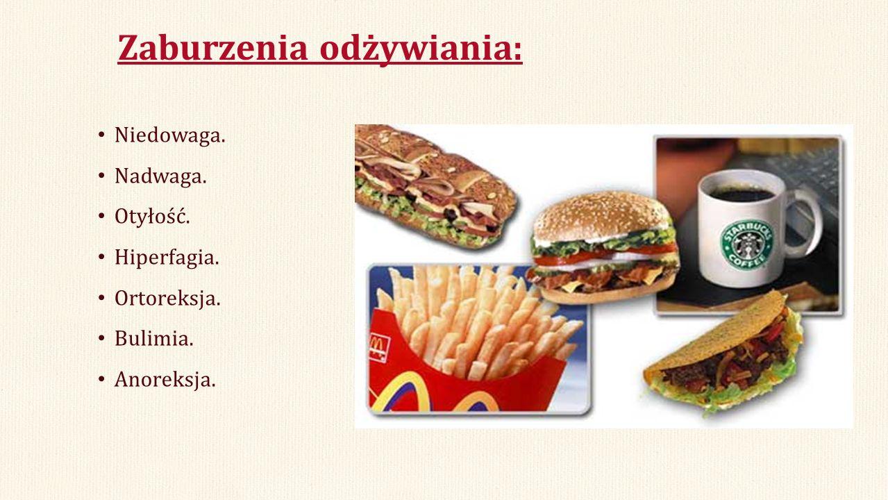Zaburzenia odżywiania: