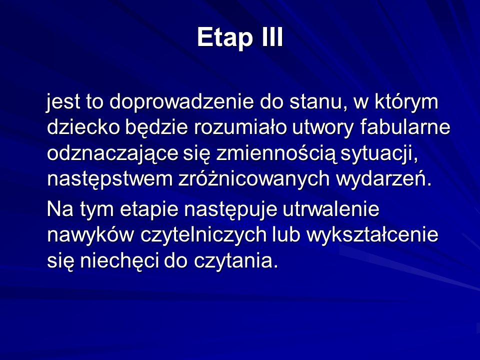 Etap III