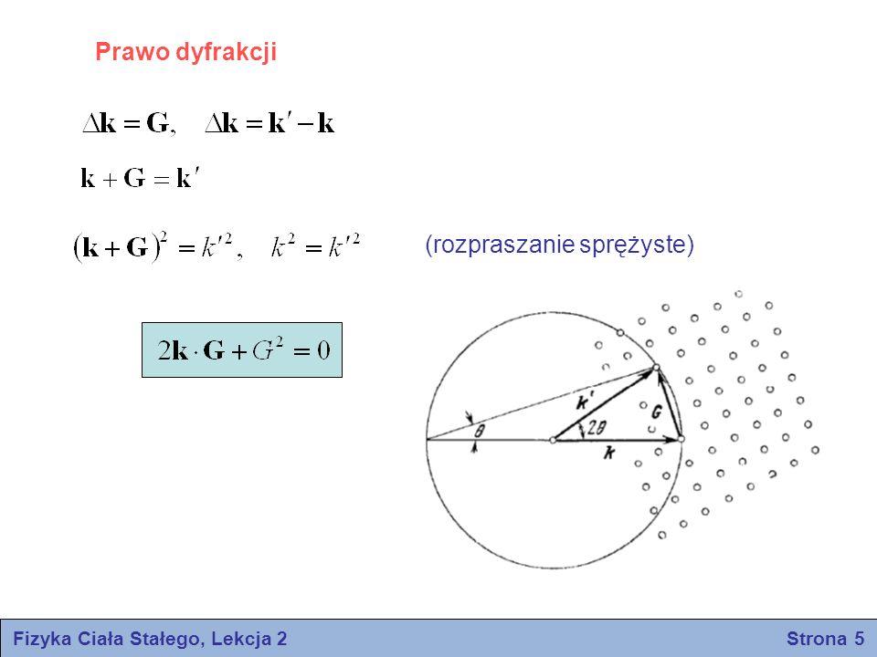 Fizyka Ciała Stałego, Lekcja 2 Strona 5