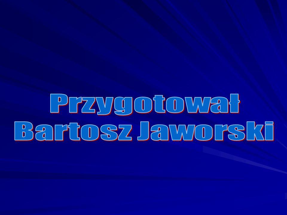 Przygotował Bartosz Jaworski