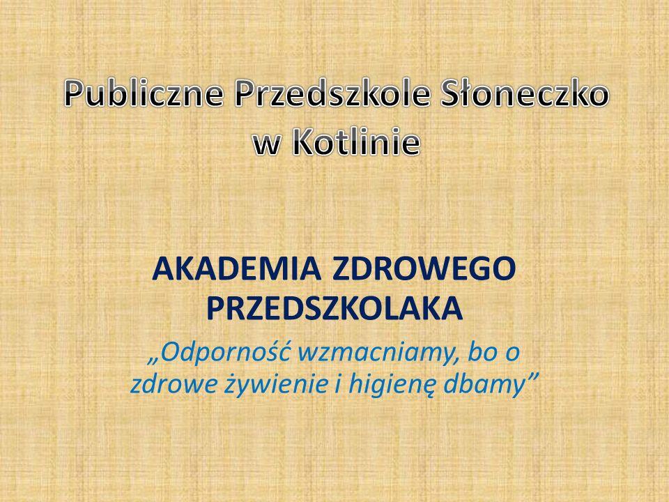 Publiczne Przedszkole Słoneczko w Kotlinie