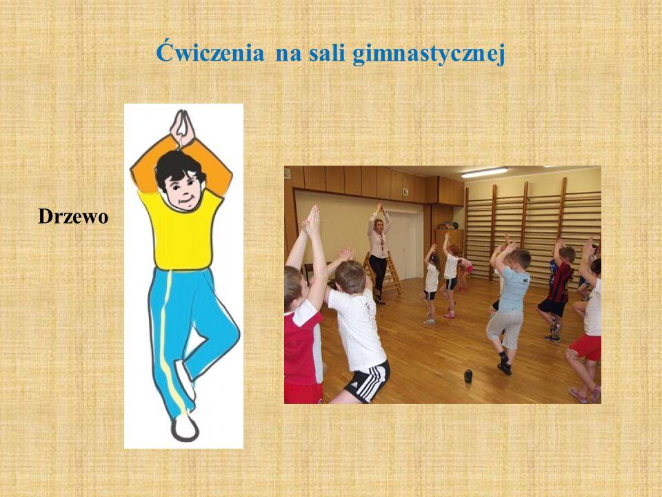Ćwiczenia na sali gimnastycznej