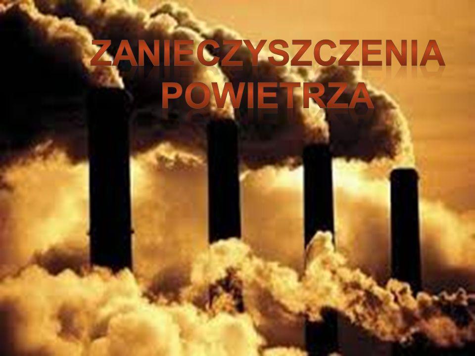 Zanieczyszczenia powietrza