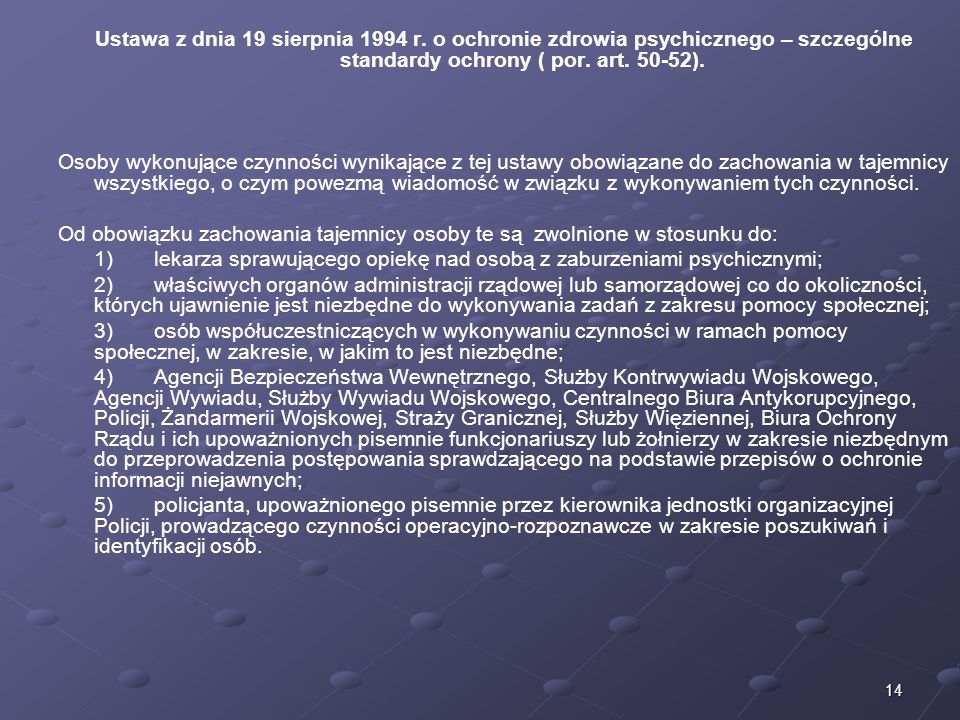 Ustawa z dnia 19 sierpnia 1994 r