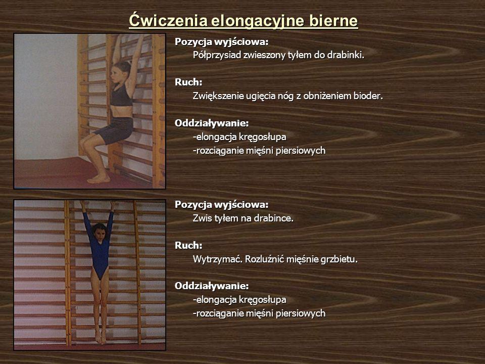 Ćwiczenia elongacyjne bierne