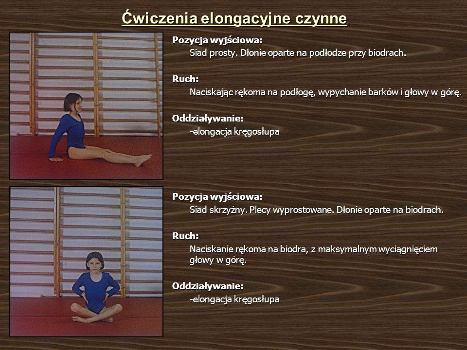 Ćwiczenia elongacyjne czynne