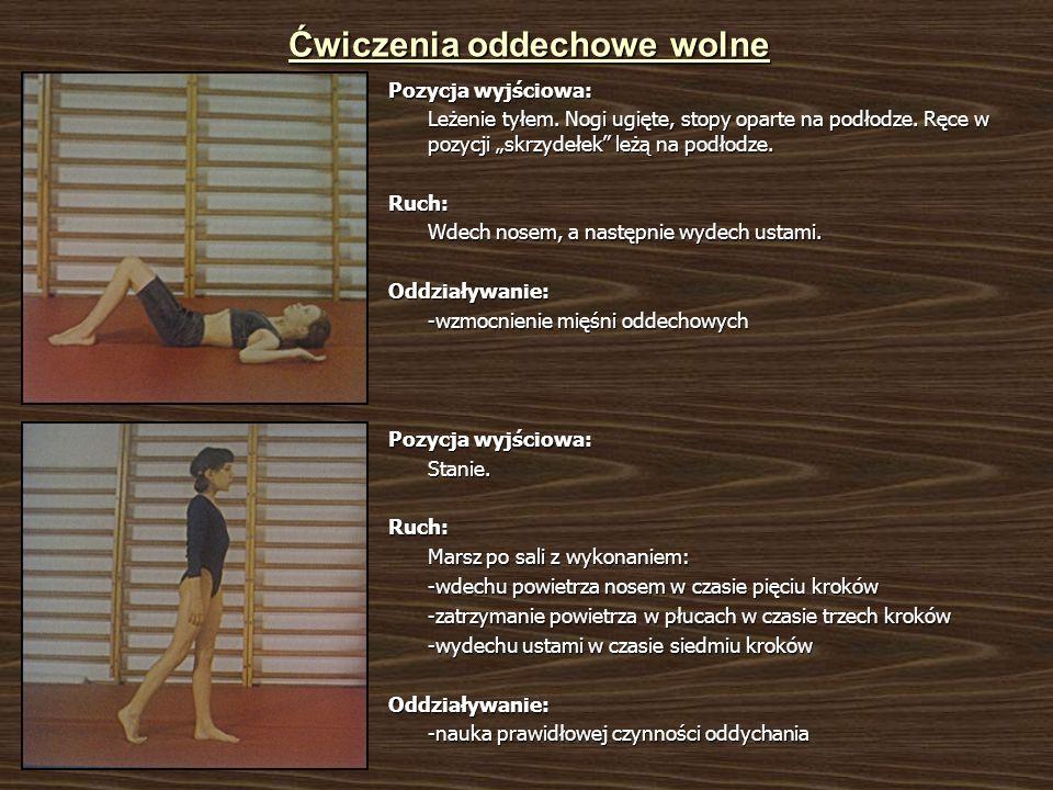 Ćwiczenia oddechowe wolne