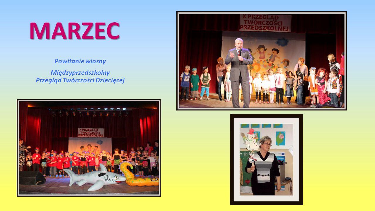 Powitanie wiosny Międzyprzedszkolny Przegląd Twórczości Dziecięcej