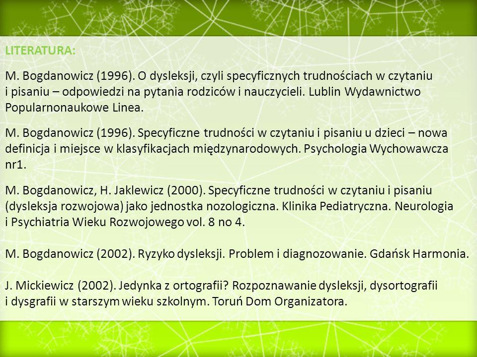 i Psychiatria Wieku Rozwojowego vol. 8 no 4.