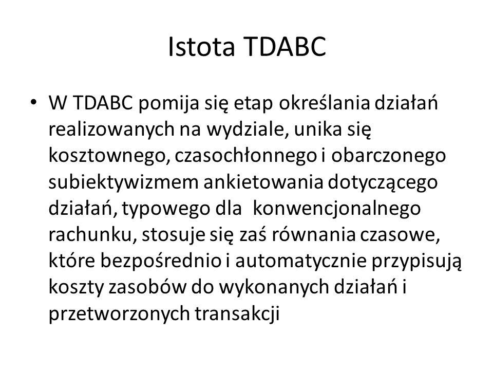 Istota TDABC