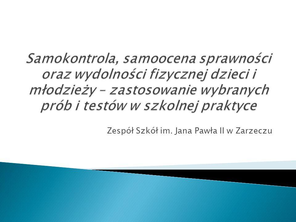 Zespół Szkół im. Jana Pawła II w Zarzeczu