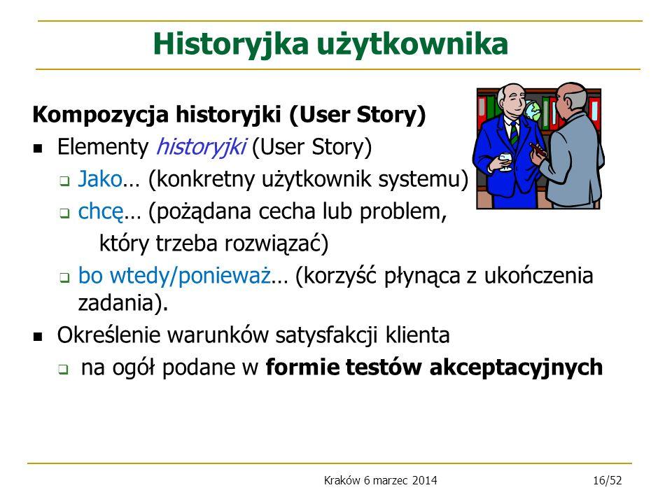 Historyjka użytkownika