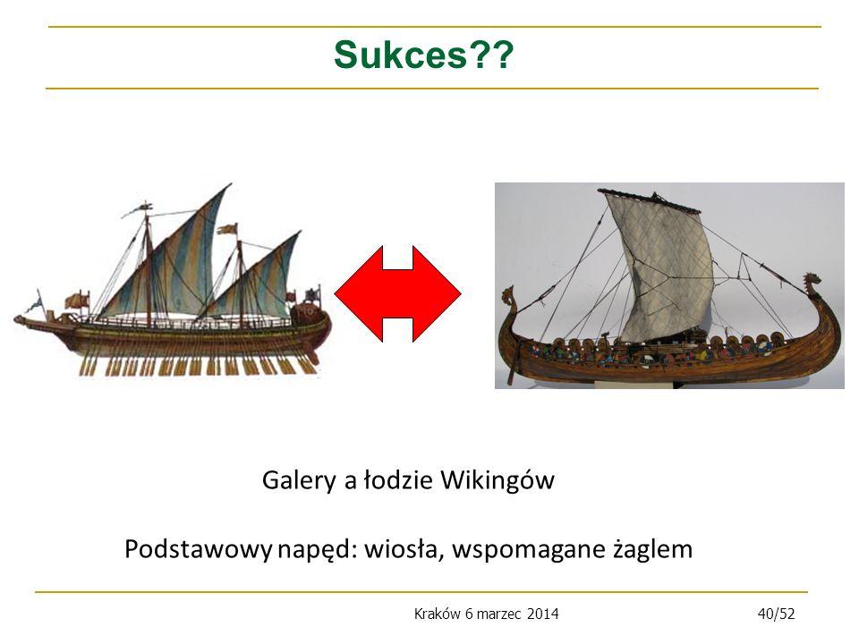 Sukces Galery a łodzie Wikingów