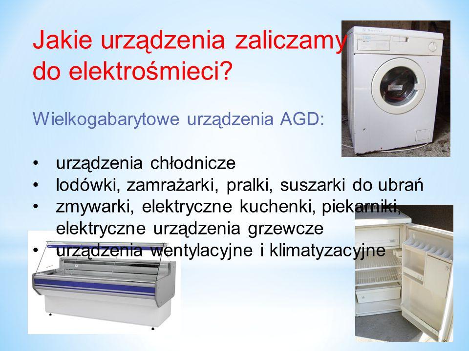 Jakie urządzenia zaliczamy do elektrośmieci