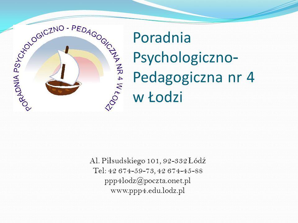 Poradnia Psychologiczno- Pedagogiczna nr 4 w Łodzi