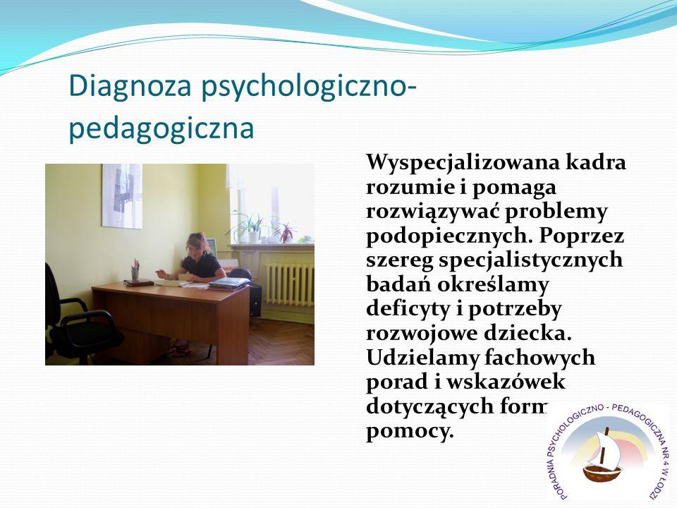 Diagnoza psychologiczno- pedagogiczna