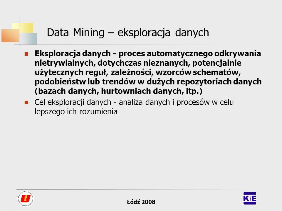 Data Mining – eksploracja danych