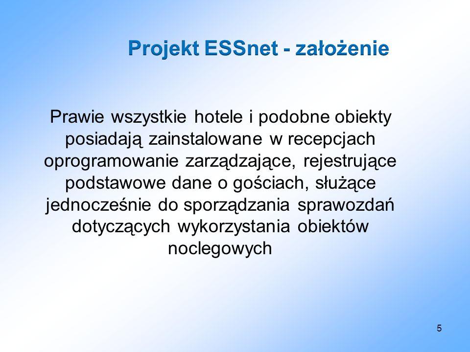 Projekt ESSnet - założenie