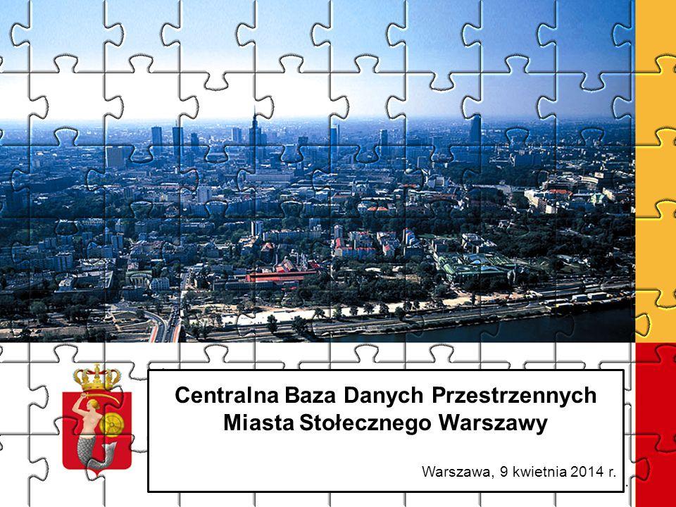 Centralna Baza Danych Przestrzennych Miasta Stołecznego Warszawy