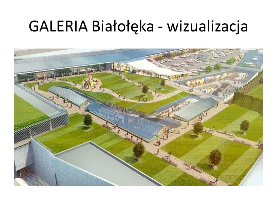 GALERIA Białołęka - wizualizacja