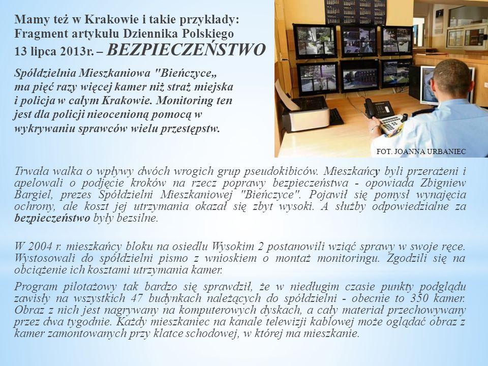 Mamy też w Krakowie i takie przykłady: