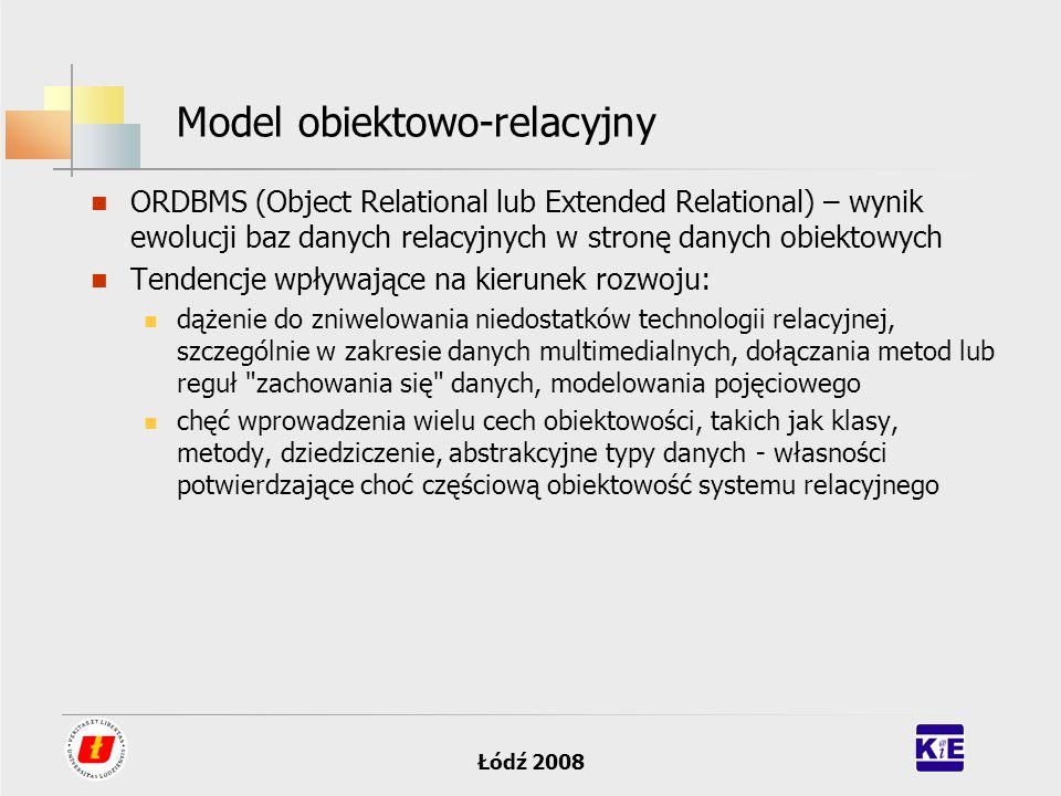 Model obiektowo-relacyjny
