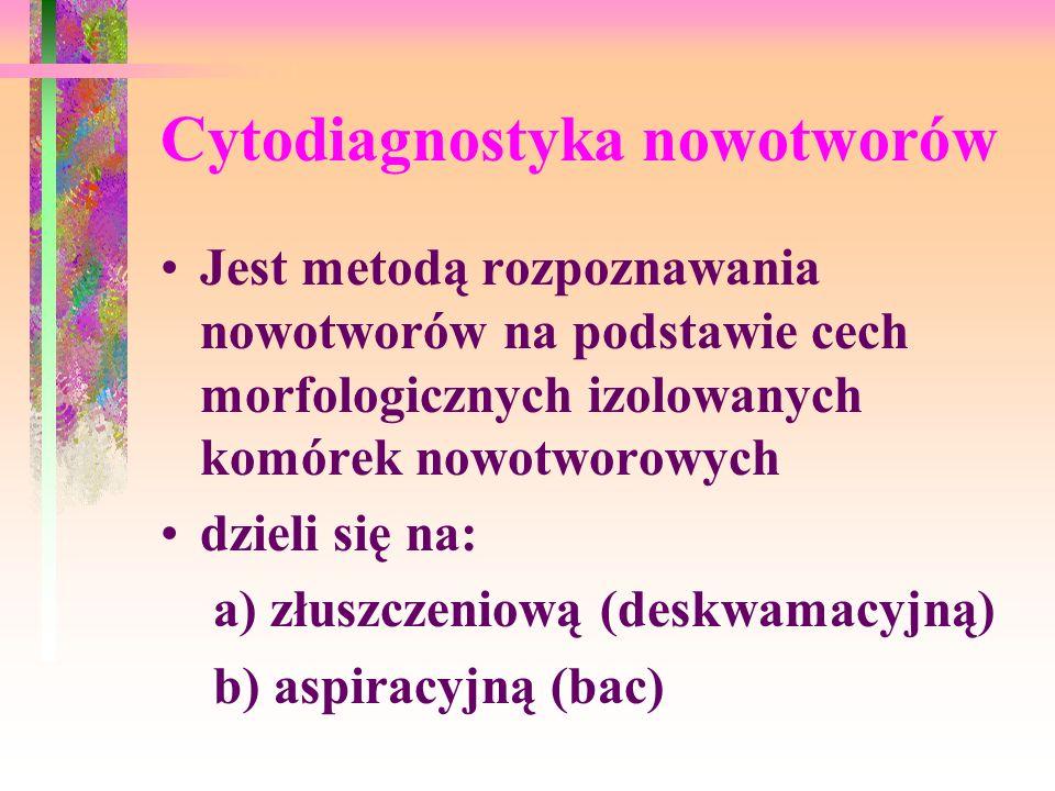 Cytodiagnostyka nowotworów