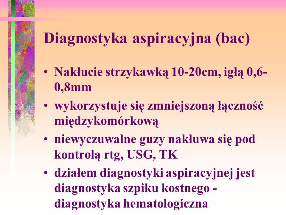 Diagnostyka aspiracyjna (bac)