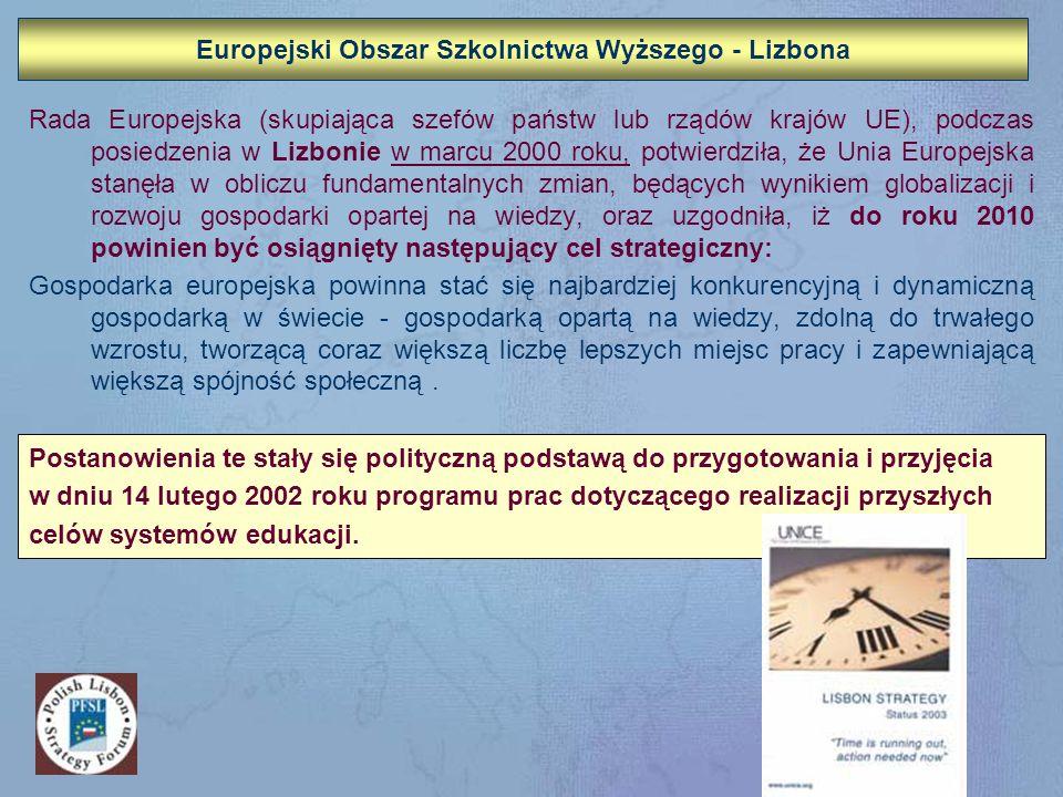 Europejski Obszar Szkolnictwa Wyższego - Lizbona