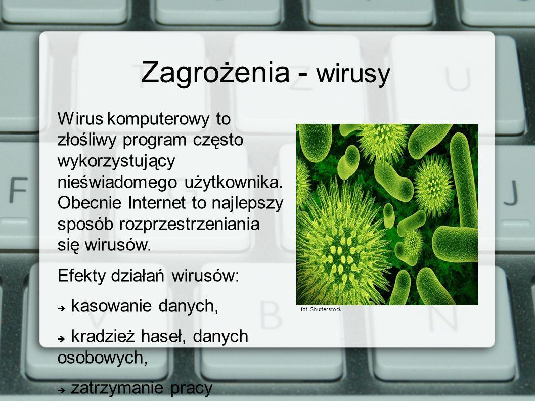 Zagrożenia - wirusy