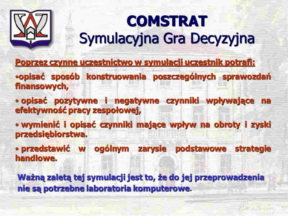 COMSTRAT Symulacyjna Gra Decyzyjna