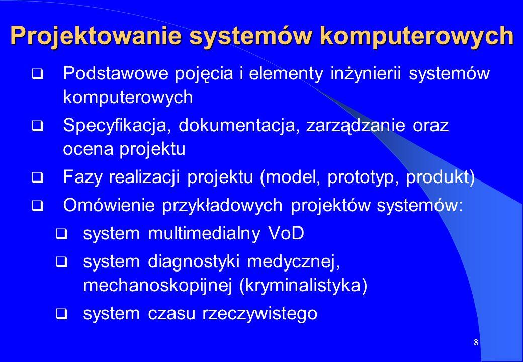 Projektowanie systemów komputerowych