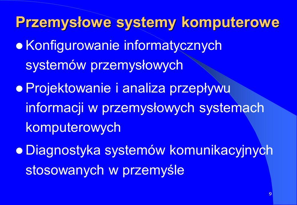 Przemysłowe systemy komputerowe