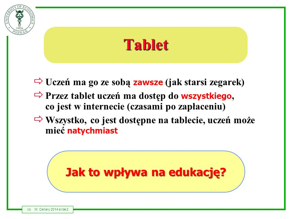 Jak to wpływa na edukację