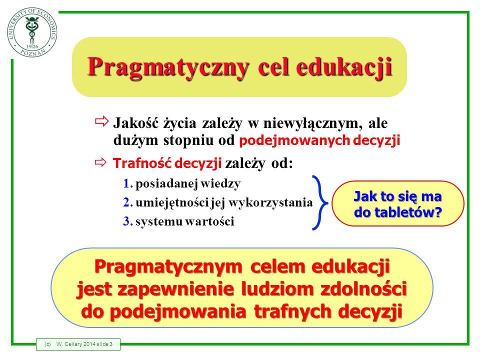 Pragmatyczny cel edukacji