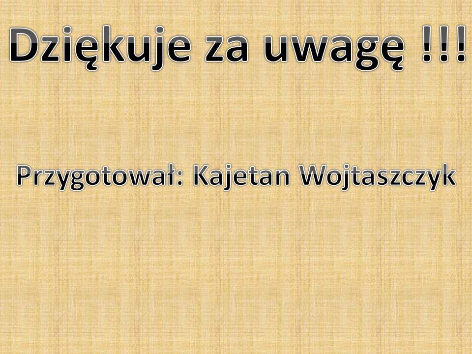 Przygotował: Kajetan Wojtaszczyk