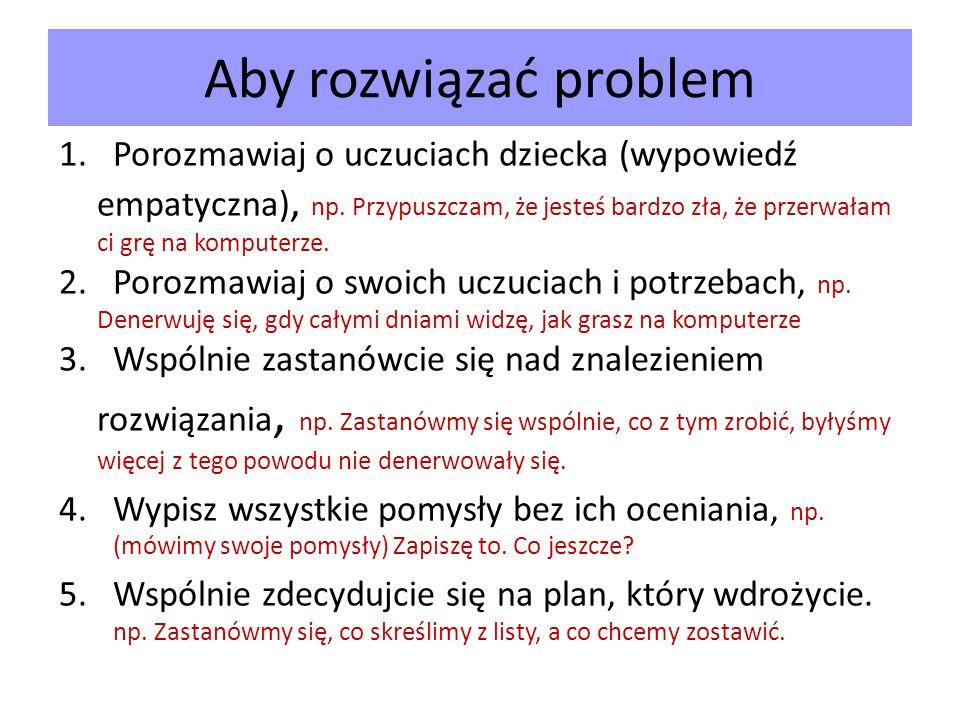 Aby rozwiązać problem