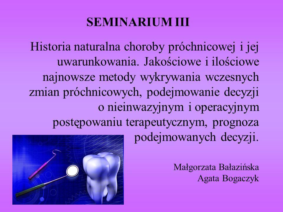 SEMINARIUM III