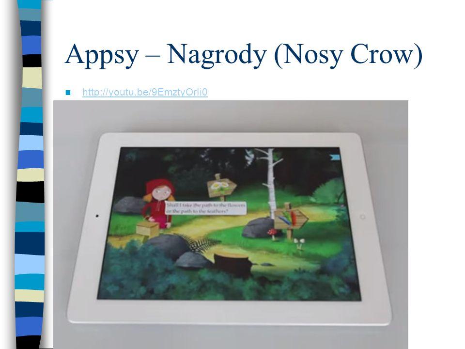 Appsy – Nagrody (Nosy Crow)
