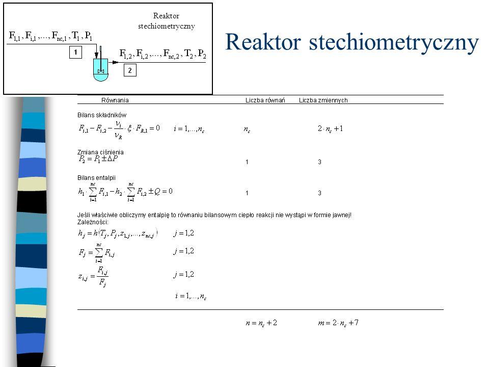 Reaktor stechiometryczny